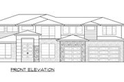 Modern Style House Plan - 4 Beds 3 Baths 3315 Sq/Ft Plan #1066-82 Exterior - Front Elevation