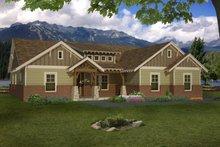 Craftsman Exterior - Front Elevation Plan #932-174