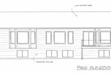 Traditional Exterior - Rear Elevation Plan #58-194