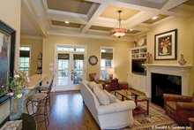 Dream House Plan - European Interior - Family Room Plan #929-59