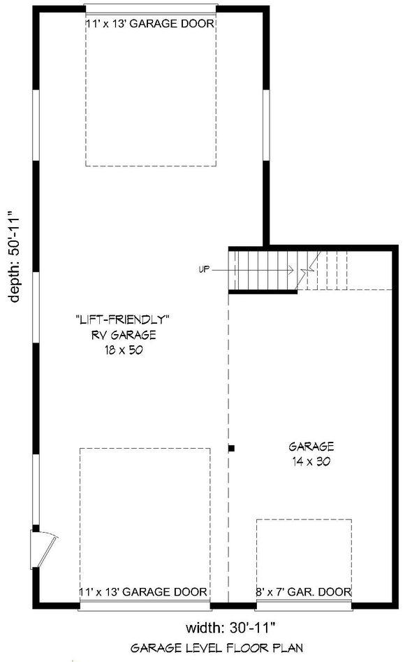 Country Floor Plan - Main Floor Plan Plan #932-260