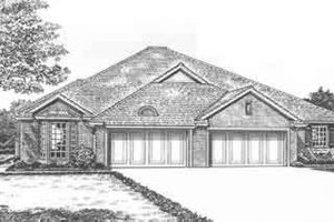 Traditional Exterior - Front Elevation Plan #310-473