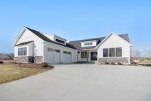 Dream House Plan - Farmhouse Exterior - Front Elevation Plan #928-303