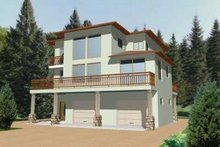 Dream House Plan - Traditional Exterior - Front Elevation Plan #117-341