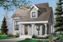 Dream House Plan - Cottage Exterior - Front Elevation Plan #23-661