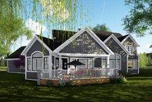 Craftsman Exterior - Front Elevation Plan #70-1487