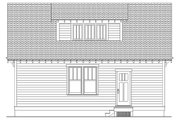 Craftsman Style House Plan - 3 Beds 2.5 Baths 1584 Sq/Ft Plan #461-6 Exterior - Other Elevation