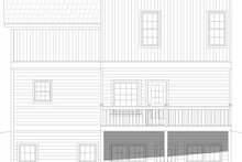 Architectural House Design - Country Exterior - Rear Elevation Plan #932-392