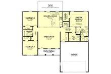 Farmhouse Floor Plan - Main Floor Plan Plan #430-209