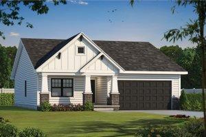 Craftsman Exterior - Front Elevation Plan #20-2390