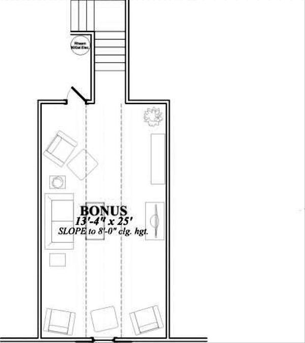 Southern Floor Plan - Other Floor Plan #63-164