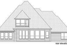 Dream House Plan - European Exterior - Rear Elevation Plan #84-602