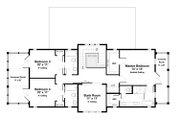 Beach Style House Plan - 4 Beds 4.5 Baths 2493 Sq/Ft Plan #443-17 Floor Plan - Upper Floor Plan
