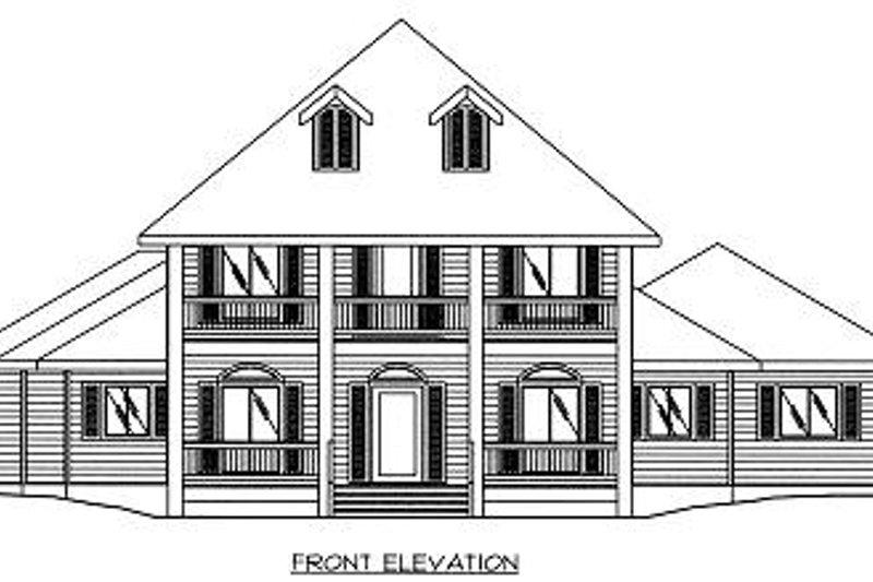 European Exterior - Other Elevation Plan #117-520 - Houseplans.com