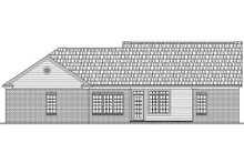 House Plan Design - Ranch Exterior - Rear Elevation Plan #21-143