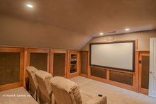 Home Plan - Optional Bonus Media Room