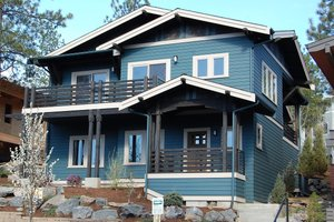 Craftsman Exterior - Front Elevation Plan #895-89
