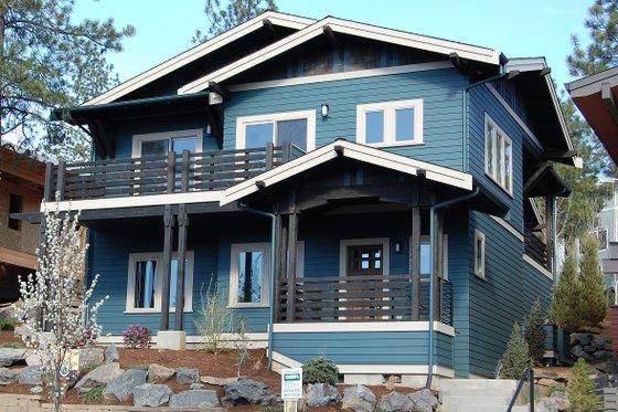 Dream House Plan - Craftsman Exterior - Front Elevation Plan #895-89