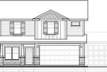 House Design - Traditional Exterior - Front Elevation Plan #1073-9