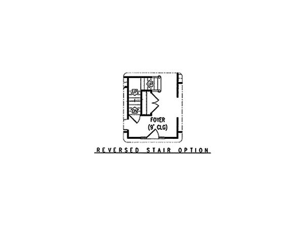 Country Floor Plan - Other Floor Plan Plan #11-215