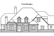 Traditional Style House Plan - 5 Beds 4.5 Baths 4619 Sq/Ft Plan #490-12 Exterior - Other Elevation