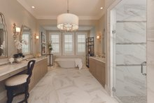 Dream House Plan - Mediterranean Interior - Master Bathroom Plan #930-508