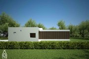 Modern Style House Plan - 3 Beds 2 Baths 1539 Sq/Ft Plan #552-2 Exterior - Other Elevation