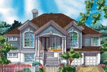 Country Exterior - Front Elevation Plan #930-74