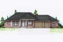 House Plan Design - European Exterior - Front Elevation Plan #5-271