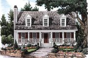 Country Style House Plan - 3 Beds 2.5 Baths 1491 Sq/Ft Plan #927-36