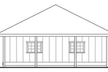 House Plan Design - Traditional Exterior - Other Elevation Plan #124-895
