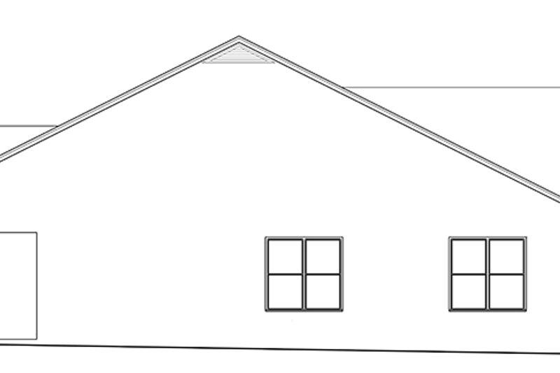 Mediterranean Exterior - Other Elevation Plan #1058-137 - Houseplans.com