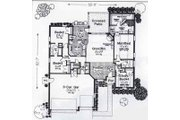 Traditional Style House Plan - 4 Beds 3 Baths 1916 Sq/Ft Plan #310-790 Floor Plan - Main Floor