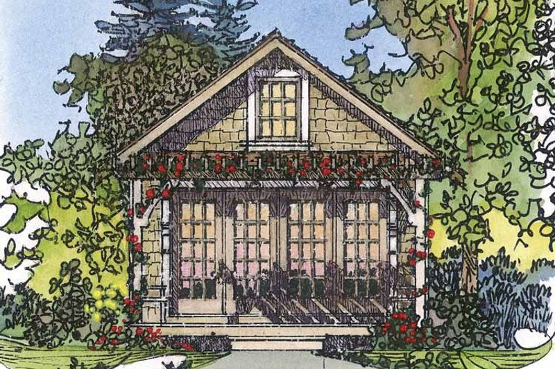 Country Exterior - Front Elevation Plan #1016-72 - Houseplans.com
