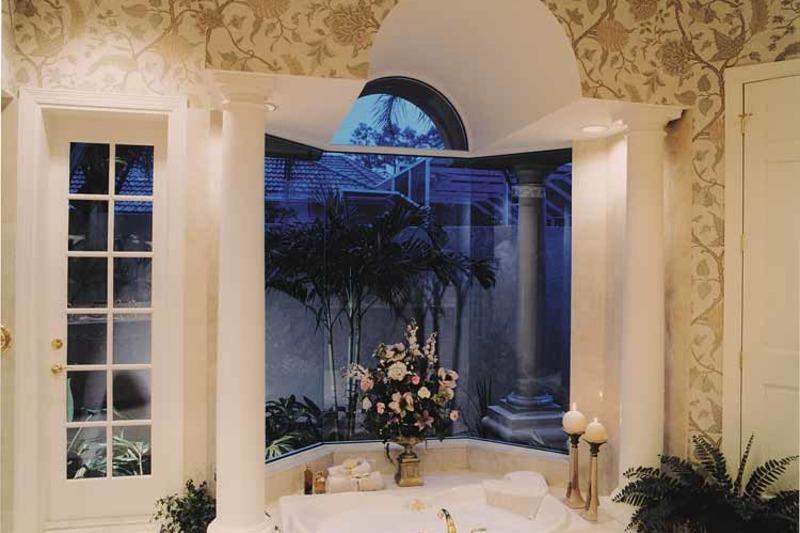 Mediterranean Interior - Master Bedroom Plan #930-100 - Houseplans.com