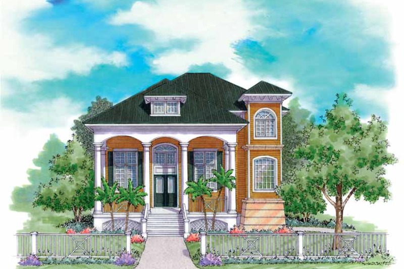 Classical Exterior - Front Elevation Plan #930-144 - Houseplans.com