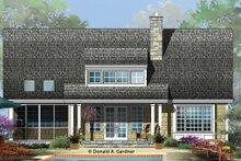 House Plan Design - Cottage Exterior - Rear Elevation Plan #929-960