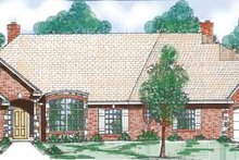 Home Plan - Traditional Exterior - Front Elevation Plan #52-266