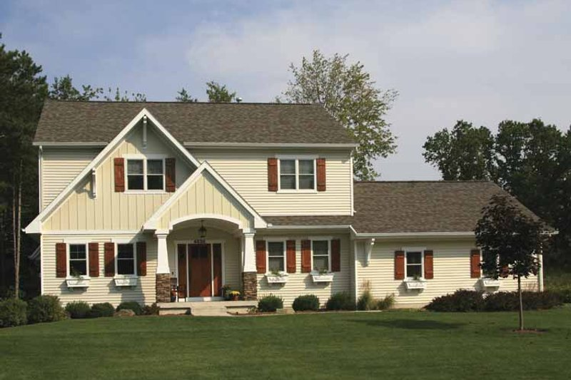 House Plan Design - Country Exterior - Front Elevation Plan #928-163