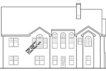 Ranch Exterior - Rear Elevation Plan #927-261