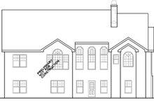 House Design - Ranch Exterior - Rear Elevation Plan #927-261