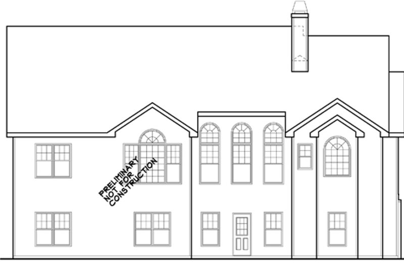 Ranch Exterior - Rear Elevation Plan #927-261 - Houseplans.com