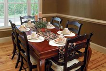 Country Interior - Dining Room Plan #929-634