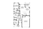 Farmhouse Style House Plan - 3 Beds 2 Baths 1552 Sq/Ft Plan #48-1032 Floor Plan - Main Floor