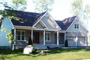 Country Style House Plan - 3 Beds 2 Baths 1432 Sq/Ft Plan #23-2463