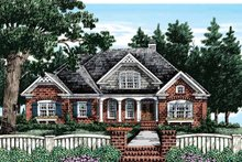 House Plan Design - Country Exterior - Front Elevation Plan #927-372