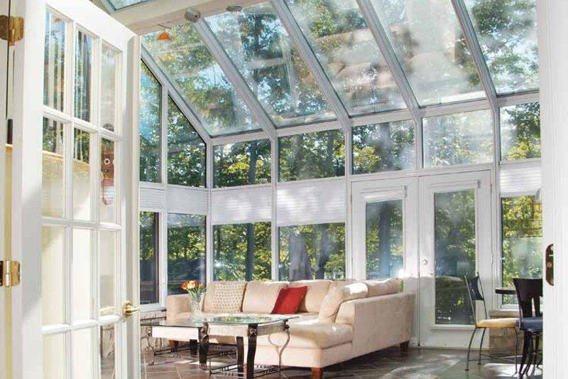Mediterranean Interior - Family Room Plan #23-2343 - Houseplans.com