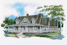 Dream House Plan - Craftsman Exterior - Front Elevation Plan #929-399