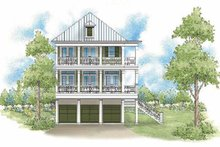 Traditional Exterior - Rear Elevation Plan #930-403