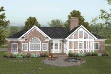 Craftsman Exterior - Rear Elevation Plan #56-682
